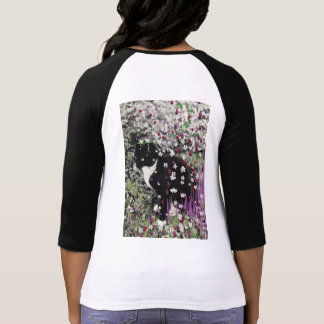 Freckles in Flowers I - Tux Kitty Cat Tees