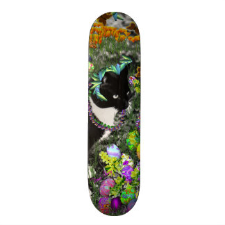 Freckles in the Hunt for Colored Easter Eggs Skate Board Deck