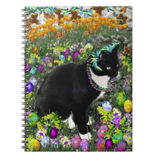 Freckles in the Hunt for Easter Eggs Spiral Notebooks