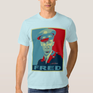 Fred Army Hope Tshirts