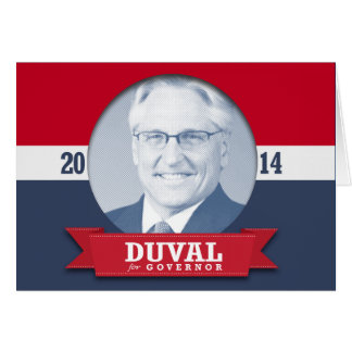 FRED DUVAL CAMPAIGN CARDS
