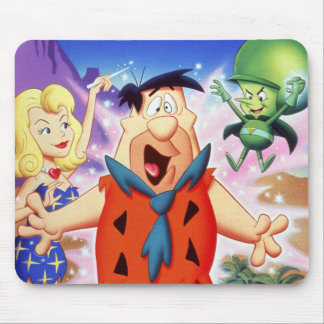 Fred Flintstone Under A Spell Mouse Pad