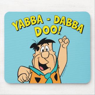 Fred Flintstone Yabba-Dabba Doo! Mouse Mat