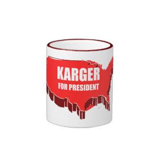 FRED KARGER 2012 COFFEE MUGS
