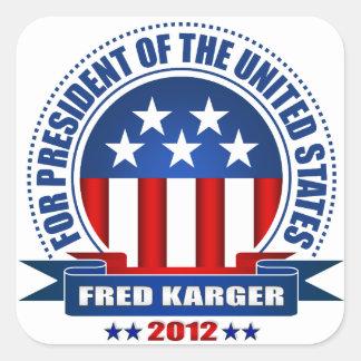 Fred Karger Sticker