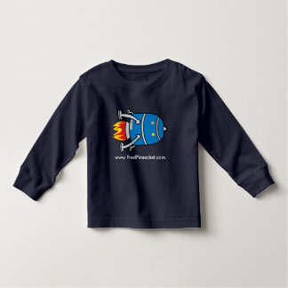 Fred Pinsocket's Rocket - Toddler Long-sleeve Tee