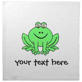 Freddie Frog Napkin