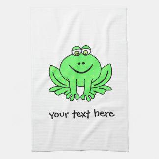 Freddie Frog Tea Towel
