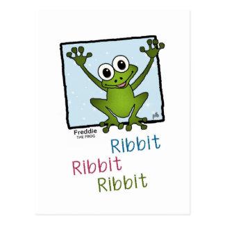 Freddie the Frog (Pathway Pet) Postcard