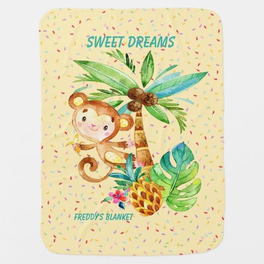 Freddie's Sweet Dreams Yellow Blankie Baby Blanket