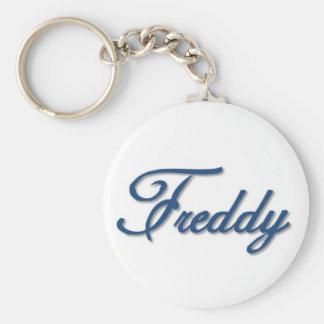 Freddy Basic Round Button Key Ring