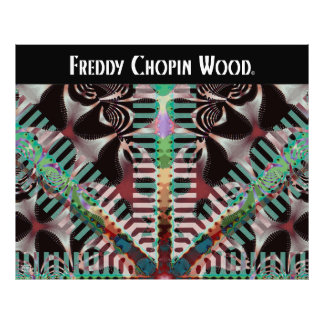 Freddy Chopin Wood Photo Print