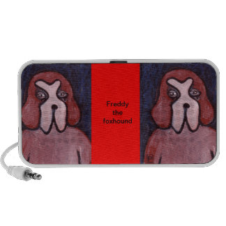 Freddy the foxhound doodle speaker