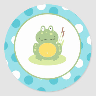 Freddy the Frog Envelope Seals / Toppers 20