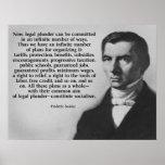 Frederic Bastiat Legal Plunder Poster