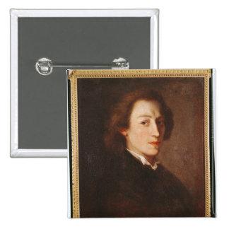 Frederic Chopin 15 Cm Square Badge