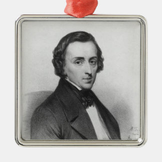 Frederic Chopin, after Ary Scheffer Christmas Ornament