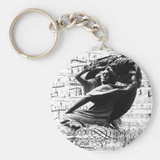 Frederic Chopin Key Ring