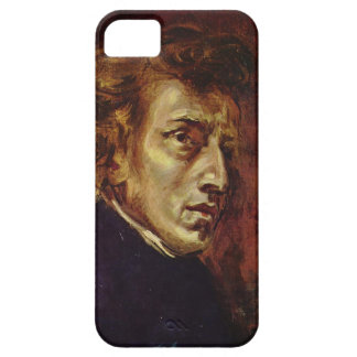 Frederic Chopin Portrait by Eugene Delacroix iPhone 5 Case