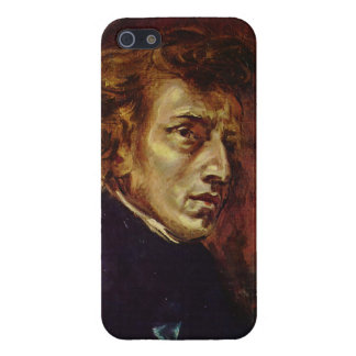 Frederic Chopin Portrait by Eugene Delacroix iPhone 5/5S Cases