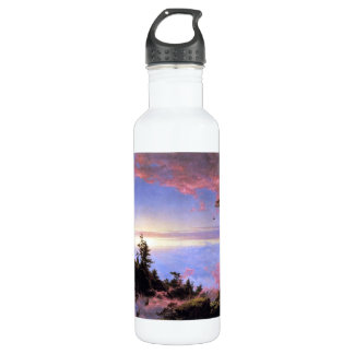Frederic Edwin Church - Above the clouds at sunris 710 Ml Water Bottle
