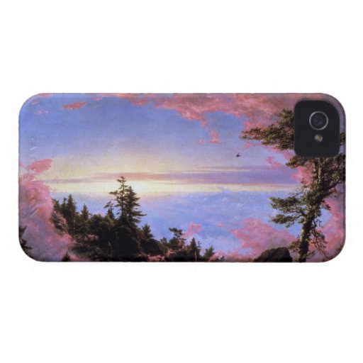 Frederic Edwin Church - Above the clouds at sunris Blackberry Bold Cases