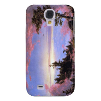 Frederic Edwin Church - Above the clouds at sunris Samsung Galaxy S4 Case