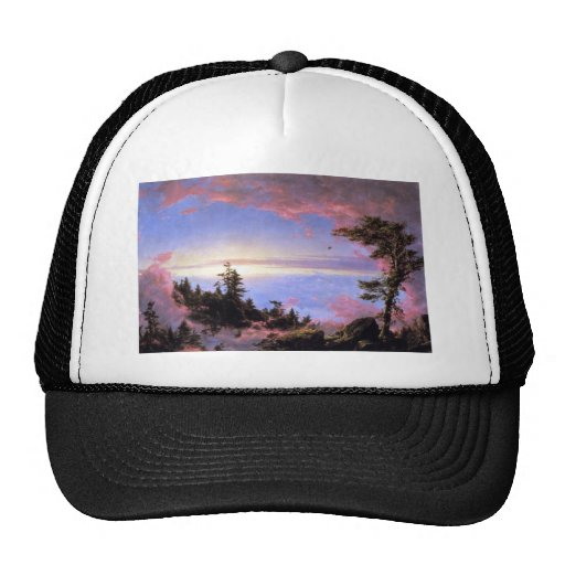 Frederic Edwin Church - Above the clouds at sunris Hats