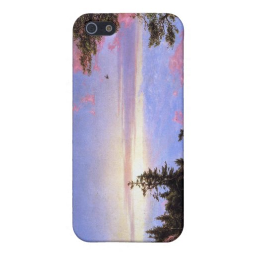 Frederic Edwin Church - Above the clouds at sunris Cases For iPhone 5
