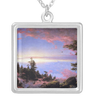 Frederic Edwin Church - Above the clouds at sunris Pendant