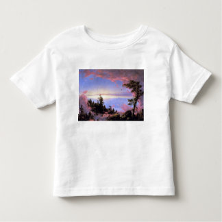 Frederic Edwin Church - Above the clouds at sunris Tee Shirt