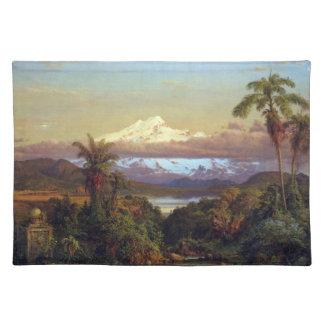 Frederic Edwin Church - Cayambe Ecuador Placemat