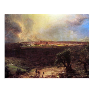 Frederic Edwin Church - Jerusalem from the Mount o Postcard