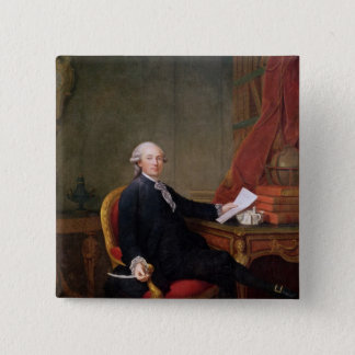 Frederic-Ignace  Comte de Mirbec, 1780 15 Cm Square Badge