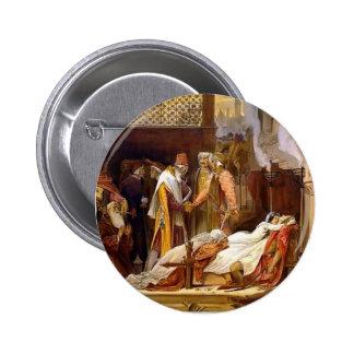 Frederic Leighton-Reconciliation of Montagues 6 Cm Round Badge