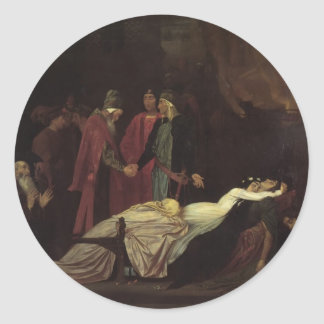 Frederic Leighton-Reconciliation of Montagues Sticker