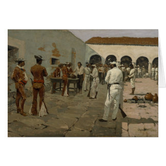 Frederic Remington Art Card
