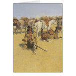 Frederic Remington Art Greeting Card