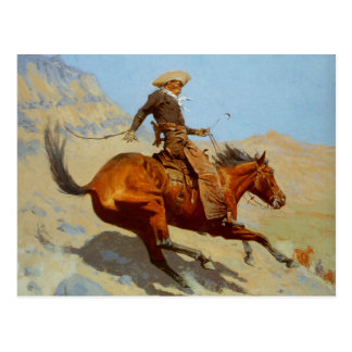 Frederic Remington s The Cowboy 1902 Postcards
