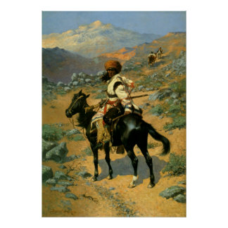 Frederic Remington s The Indian Trapper 1889 Poster