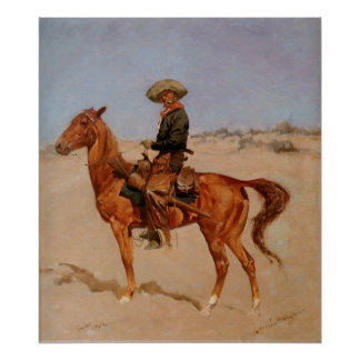 Frederic Remington s The Puncher 1895 Print