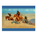 Frederic Remington's The Buffalo Runners (1909) Postcards