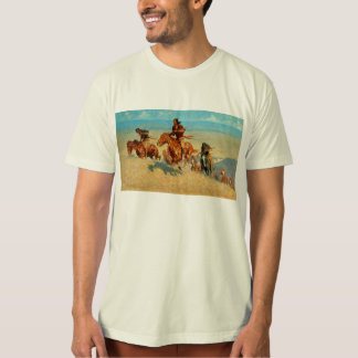 Frederic Remington's The Buffalo Runners (1909) T-Shirt