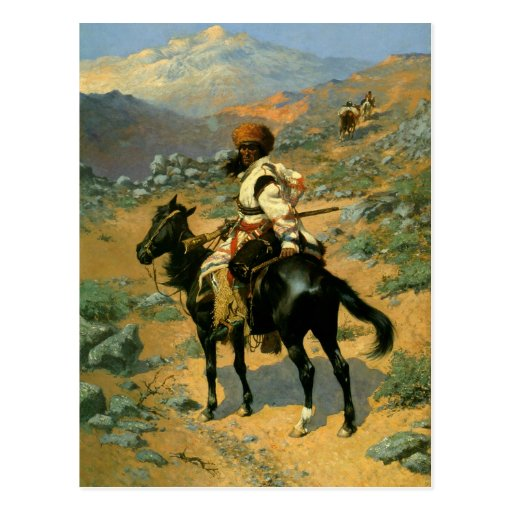 Frederic Remington's The Indian Trapper (1889) Post Cards