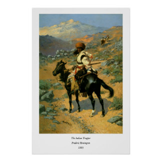 Frederic Remington's The Indian Trapper (1889) Print
