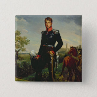 Frederic William III  King of Prussia, 1814 15 Cm Square Badge