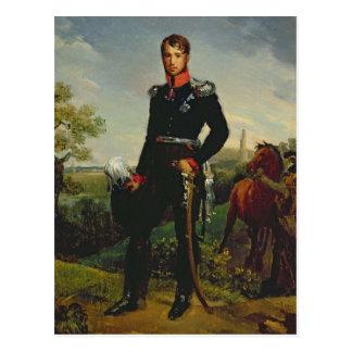 Frederic William III  King of Prussia, 1814 Postcard