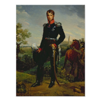Frederic William III  King of Prussia, 1814 Poster