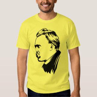 Frederich Nietzsche Portrait Tshirts