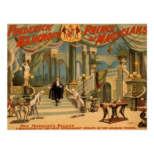 Frederick Bancroft, 'The Magician's Palace' Postcard